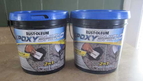 Rustoleum® Epoxyshield Blacktop Patch & Crack Filler